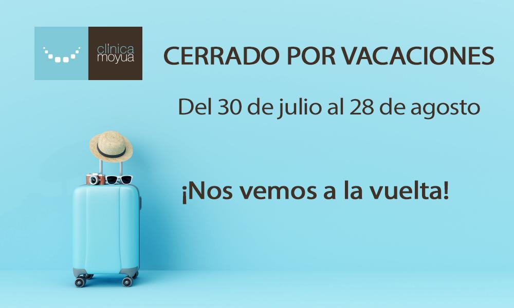 vacaciones agosto